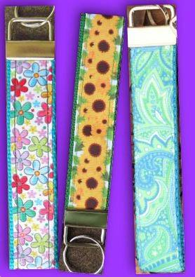 All those April showers gave us May flowers! SouthernGG.com has adorable KeyChain FOBs!