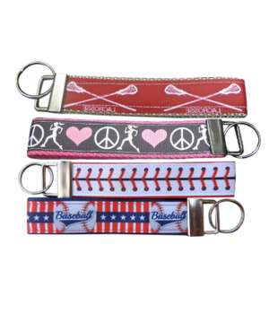Sports & College Wristlet FOBs